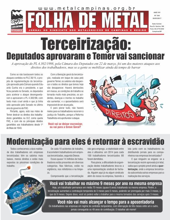 Folha de Metal 344