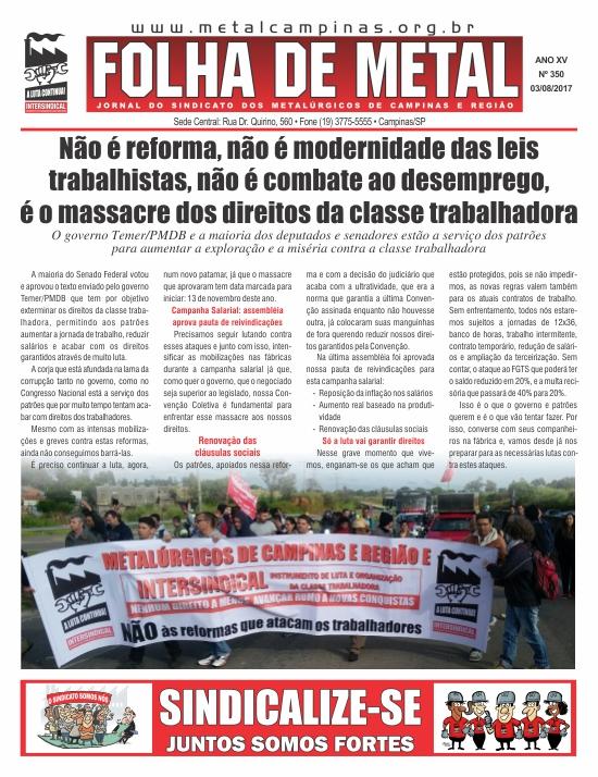 Folha de Metal 350