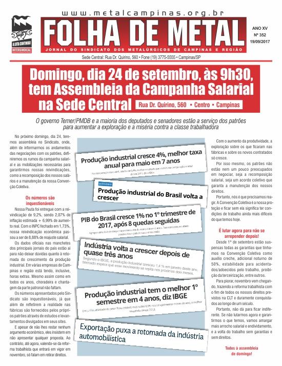 Folha de Metal 352