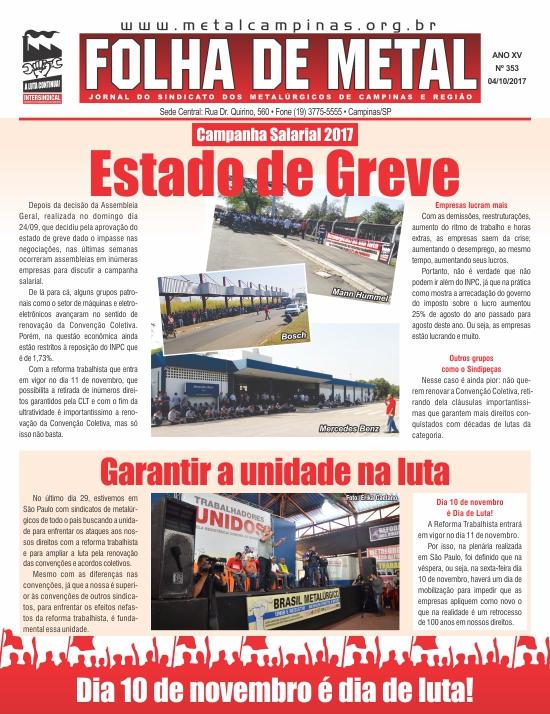 Folha de Metal 353