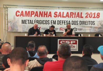 Campanha Salarial deste ano propõe luta contra a Reforma Trabalhista