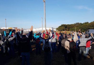 Trabalhadores na Autvale paralisam produção e protestam por aumento de PLR