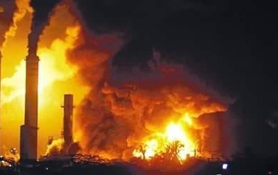 Caldeira de craqueamento explode em Refinaria da Replan, em Paulínia