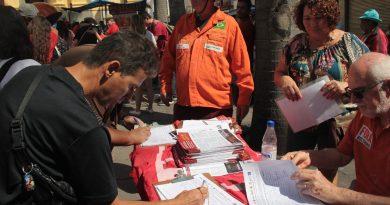 Reforma sindical quer acabar com os direitos dos trabalhadores