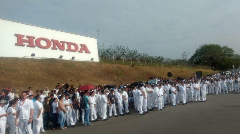 Vara do Trabalho ajuíza denúncia de Sindicato contra Honda