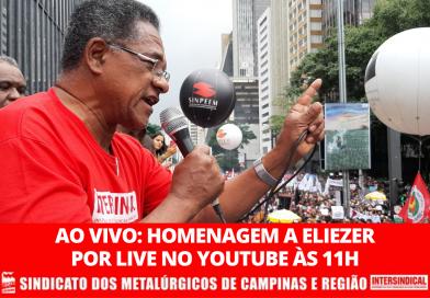 Homenagem ao imprescindível, Eliezer Mariano da Cunha