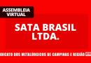 RESULTADO – SATA BRASIL: Redução de jornada com redução de salário e suspensão do contrato de trabalho