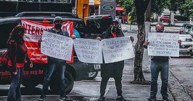 Solidariedade à greve dos metalúrgicos na Renault