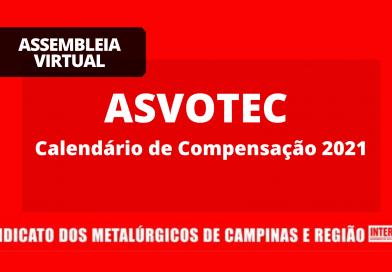 RESULTADO – ASVOTEC: Compensação 2021
