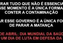 No Brasil desgovernado por Bolsonaro: mais de 4 mil mortes num dia. Parar tudo que não é essencial nesse momento é a única forma de conter a contaminação. Parar esse governo é a única forma de parar a matança