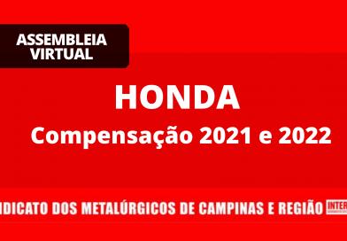 Resultado – Honda: Compensação 2021-2022