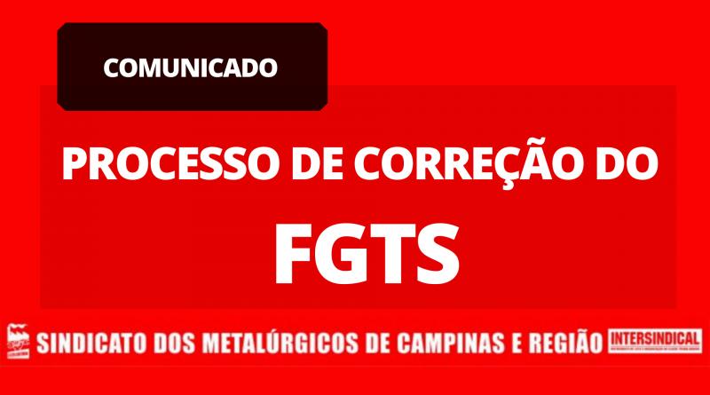 Processo de Correção do FGTS